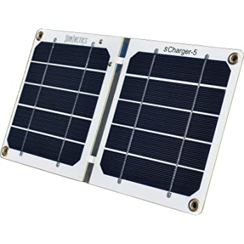 Suntactics S5 Ultralight Hiking Solar Charger, Quick Charge Phones, Power Banks and Many Other USB Devices Using Only The Sun! Assembled in The USA