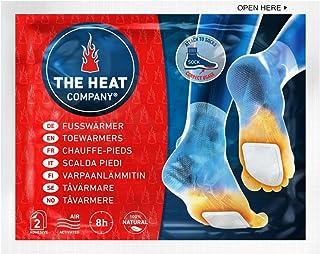 comprar comparacion THE HEAT COMPANY Calentadores Pies - 5, 15 o 40 Pares - Extra CÁLIDO - Adhesivo - 8 Horas de pies Calientes - Calor instan...