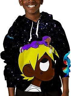 Youth Sweatshirt Hooded 3D Pullover Hoodies Activewear Warm Jacket for Teen Boys Girls