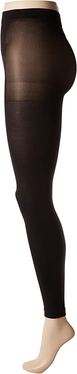 Super Opaque Footless Tights