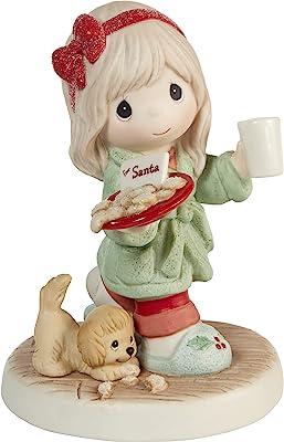 Precious Moments Santa's On His Way Bisque Porcelain Figurine 211041