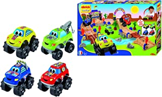 Ecoiffier abrick Big Foot Circuit Vehicle Play Set - 4 Years above
