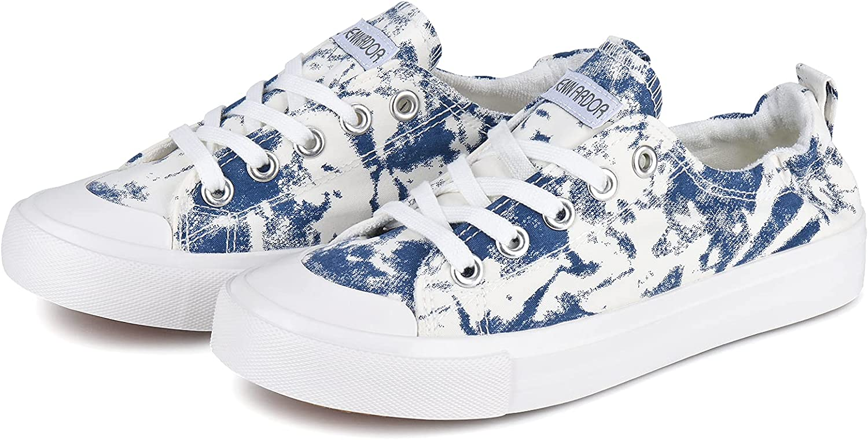 JENN ARDOR New arrival Womens Canvas Shoes Cas Tennis Sneakers Low 5 ☆ very popular Top