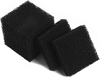 LTWHOME Carbon Foam Filter Pads Fish Tanks Fit for Juwel Compact (Pack of 6)