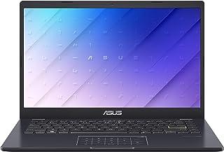 ASUSTek ノートパソコン E410MA(Celeron N4020/4GB, 64GB/1,920×1,080(フルHD)/14インチ/Webカメラ/Windows 10 Home (S モード)/WPS Office/スターブラックメタ...