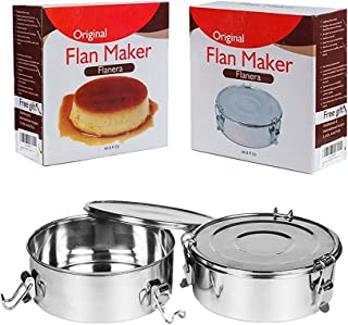 Perfect Flan Maker Flan Mold Flanera Stainless Steel Recipes