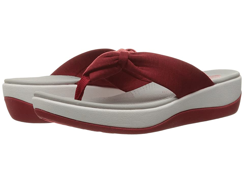 Clarks Arla Glison (Red Heather Fabric) Women's Sandals