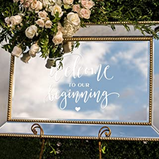 Best mirror decal wedding Reviews