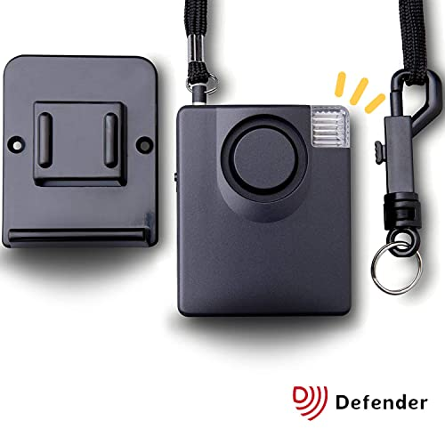 Police Preferred Personal Attack Alarm - Attack Safety Alarm Keyring Siren with Torch - 143dbs