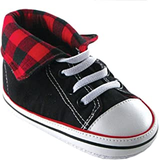 baby buffalo plaid shoes