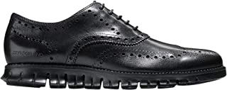 Cole Haan Men's Zerogrand Wingtip Oxford 10 Black-Black