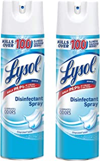 Lysol Disinfectant Spray, Crisp Linen, 38 Ounce