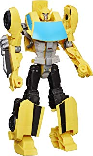 """Transformers Toys Heroic Bumblebee Action Figure - Timeless Large-Scale Figure, Changes into Yellow Toy Car, 11"""" (Amazon Exclusive)"""