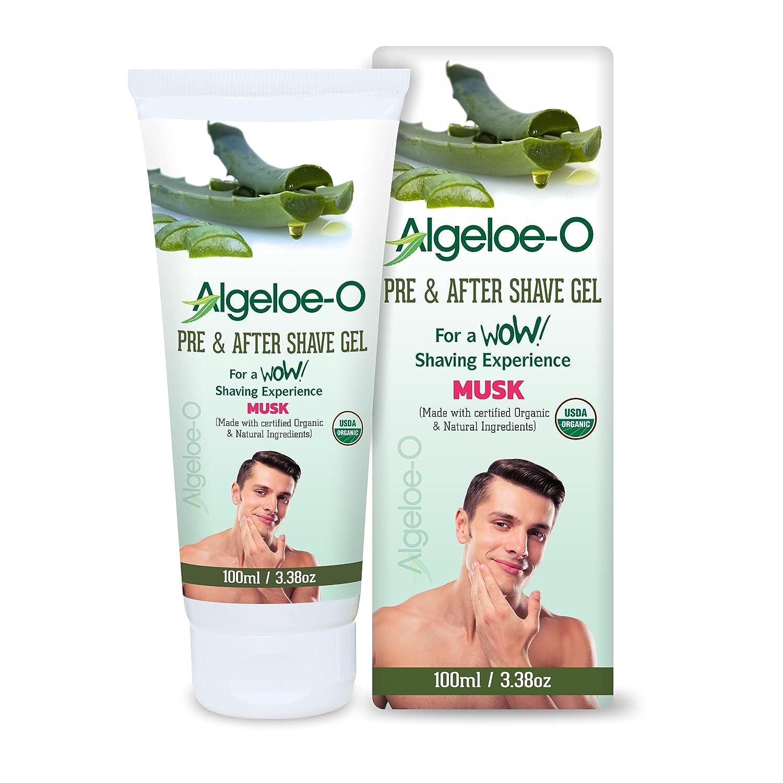 ALGELOE-O Pre Import After Shave Gel For Bargain 100m barbadensis Aloe - Men
