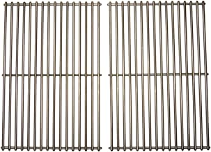 Music City Metals 536S2 Stainless Steel Wire Cooking Grid Replacement for Select Gas Grill Models by Broil King, Broil-Mate and Others, Set of 2