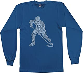 long sleeve hockey t shirts