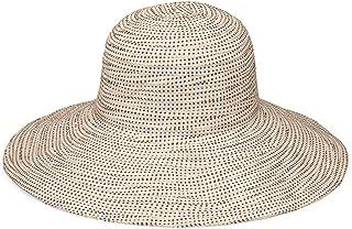 Women's Scrunchie Sun Hat – UPF 50+, Ultra-Light, Wide Brim, Floppy, Packable
