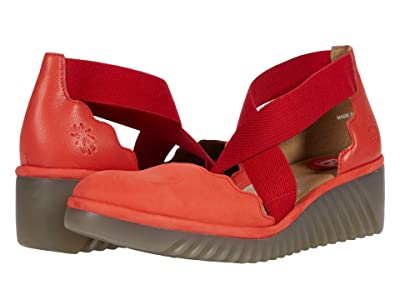FLY LONDON LAGO292FLY (Devil Red Cupido/Mousse) Women