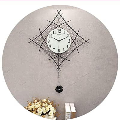Hyun times European Style Living Room Minimalist Wall Clock Mute Creative Clock Personality Modern Bedroom Luminous