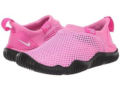 Nike Kids Aqua Sock 360 (Infant/Toddler) (Psychic Pink/White/Laser Fuchsia/Black) Girls Shoes