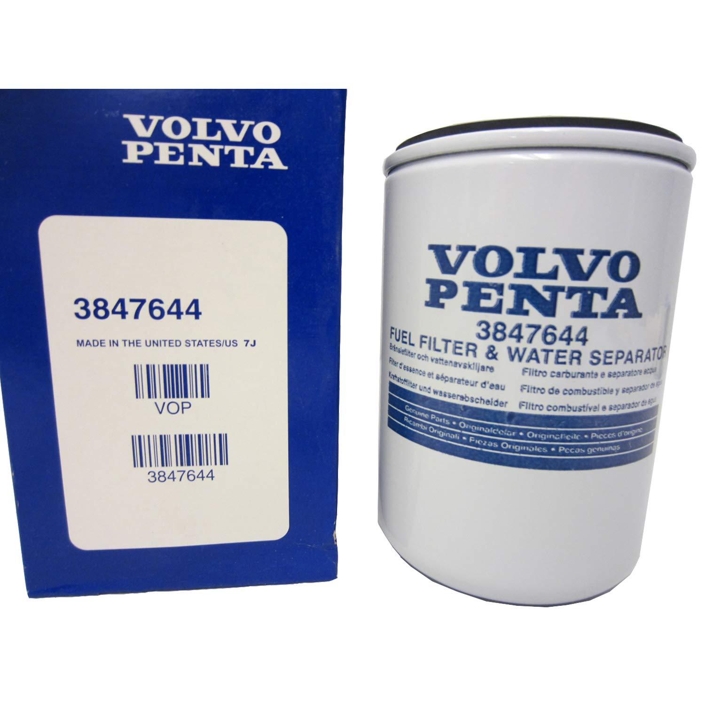 volvo penta fuel pump amazon comoem volvo penta marine engine fuel filter \u0026 water separator 3847644