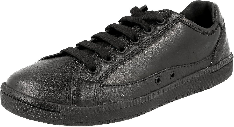 Car shoes Women's KDE66K 038 F0002 Leather Sneaker