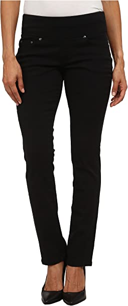 Jag Jeans Petite - Petite Peri Pull On Straight Twill Pants