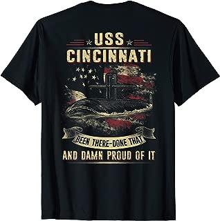 USS Cincinnati (SSN-693)  T-Shirt