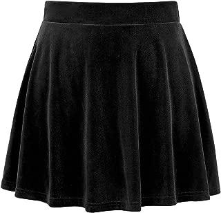 Best black velvet a line skirt Reviews