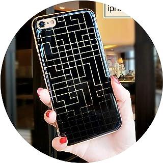 カップル迷路セットアップル6Plus携帯電話シェル,アップル6 / 6S迷路+ストラップ