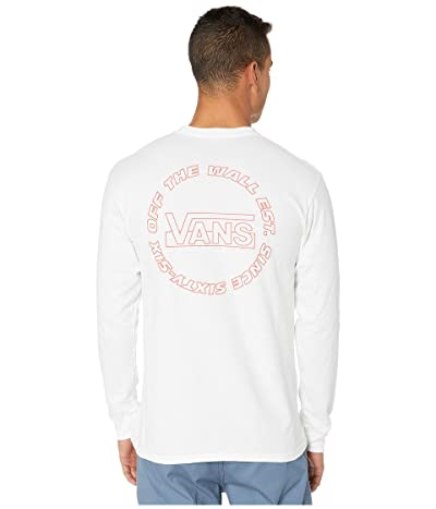 Vans OTW(r) Framework Long Sleeve T-Shirt (White) Men