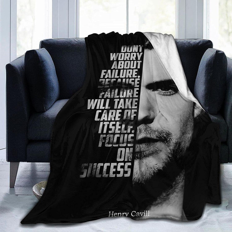 TLOVE Henry 新作 Cavill Blanket 超激安 Soft Flannel Cozy Throw Blank