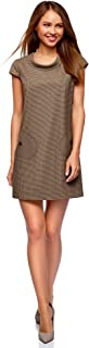 Ultra Women's Straight Dress with Patch Pockets