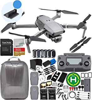 """DJI Mavic 2 Pro Drone Quadcopter with Hasselblad Camera 1"""" CMOS Sensor 64GB Ultimate Everything You Need 2-Battery Bundle with Promotional 4 Battery Charging Hub"""