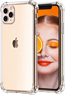 RKINC Case for Apple iPhone 11 Pro Max, Reinforced Corners Soft CushionTPU Cover Transparent Ultra Thin, Lightweight, Flexible and Scratch Resistant Silicone Case forApple iPhone 11 Pro Max 6.5 2019