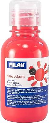 Milan 034430 - Témpera, 125 ml, color neon flamingo