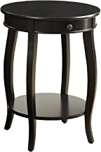 Acme Furniture 82812 Alysa Side Table, Black, One Size