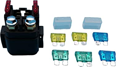Tuzliufi Replace Starter Solenoid Relay KTM 1050 1090 1190 1290 EXC EXC-E EXC-F EXCF EXCG EXCR MXC SX-F SMC SMR SX SXS SXF XC XCF XCFW XCG XCRW XCW XCWCE XCWSD 200 250 300 350 400 450 505 525 530 Z150