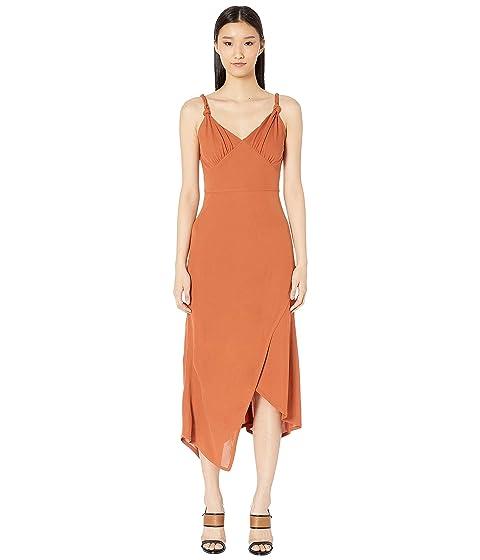 YIGAL AZROUËL Knotted Strap Matte Jersey Dress