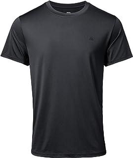 Camiseta Deportiva para Hombre, para Entrenamientos y Running, Pack de 1, Camiseta de Manga Corta, Transpirable, Absorbe l...