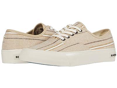 SeaVees Legend Sneaker Raffia Stripe (Natural) Men
