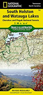 South Holston and Watauga Lakes [Cherokee and Pisgah National Forests] (National Geographic Trails Illustrated Map (783))