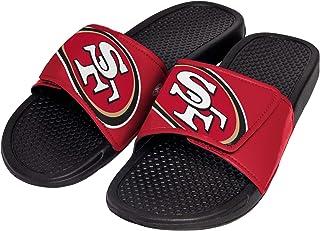 931d2ee097bb FOCO NFL Unisex - Big Logo Slide Flip Flops Sandals