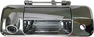 PYvideo Backup Camera with Tailgate Handle for Toyota Tundra (2007-2013) for Universal Monitors (RCA) (Color: Chrome)