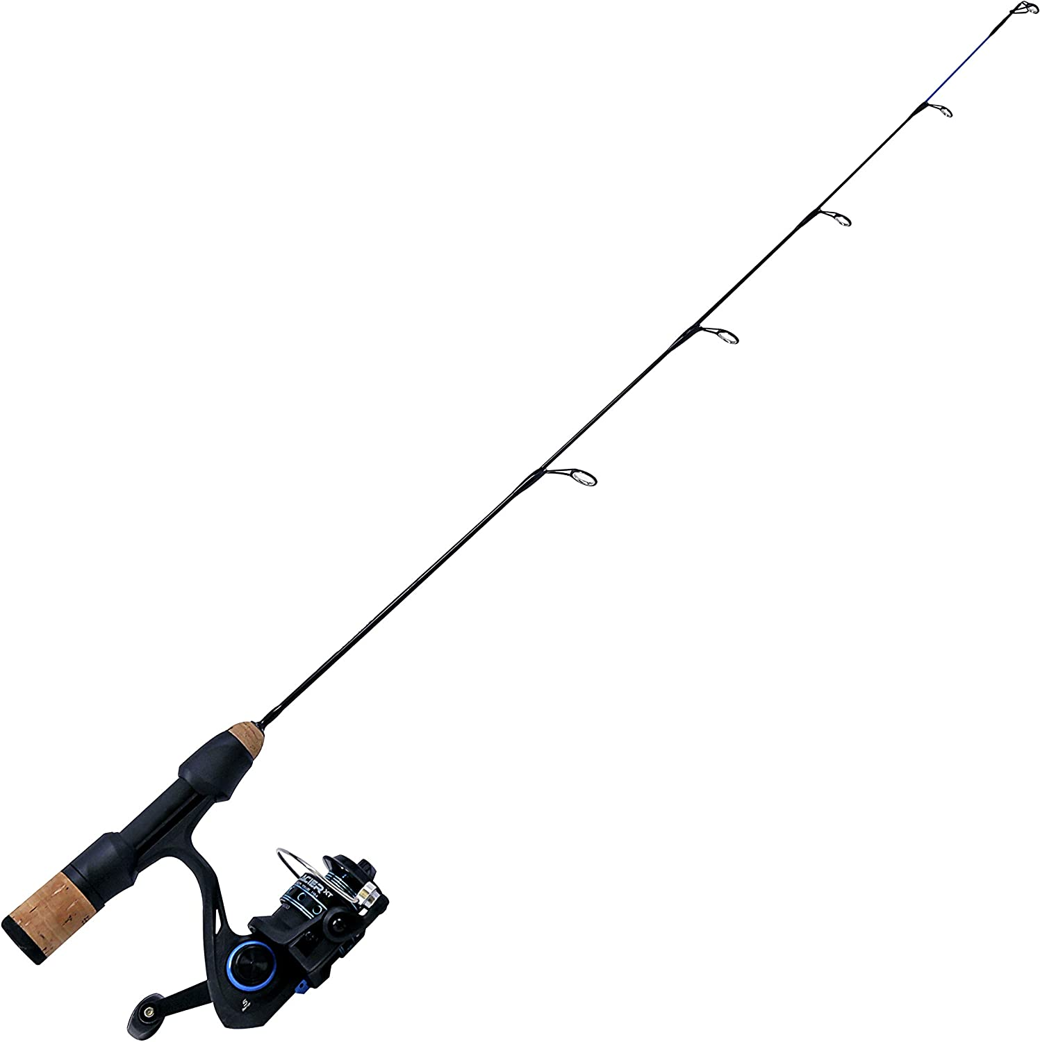Quantum Glacier XT depot Spinning Reel and Fishing Ice Soli free Combo Rod