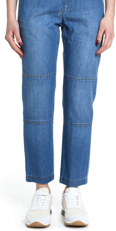 Eleventy Women's 980PA0133PAN2704008 Light bluee Cotton Jeans