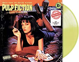 Pulp Fiction: Music From The Motion Picture - Exclusive Limited Edition Yellow Colored Vinyl LP