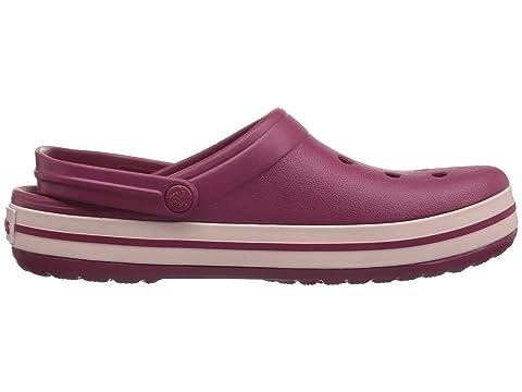 polvo Crocs Zueco Crocband rosa granada de q7Uva