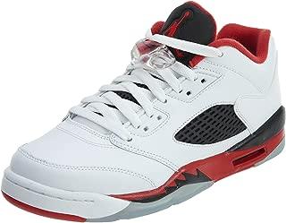 Nike Air Jordan 5 Retro Low (GS) White/Black/Red 314338-101 (SIZE: 4.5Y)