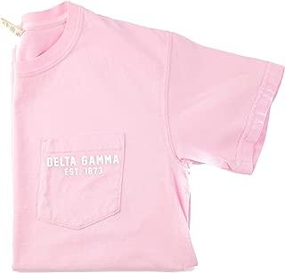 Delta Gamma Est. 1873 Pocket T-Shirt